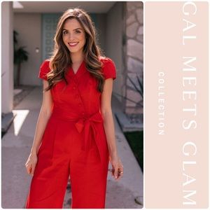 Gal Meets Glam Camille Cotton Jumpsuit